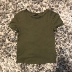 Army Green Basic Tee from Forever 21!